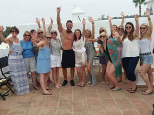 Hen party in Marbella with Cheeky Butlers