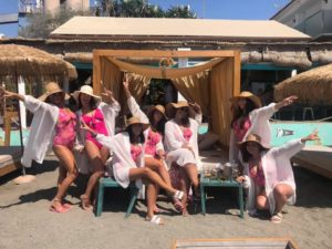 Buff Butlers for hen party in Marbella